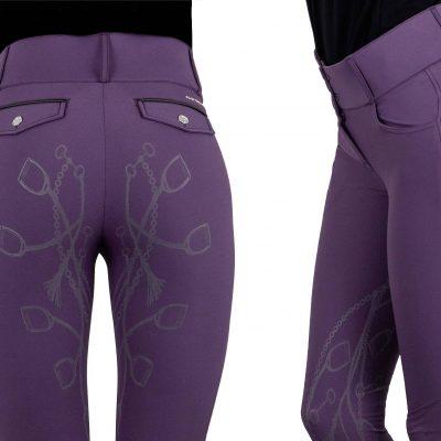 zoe ps of sweden breeches grape purple