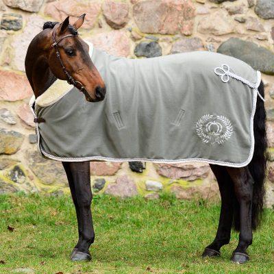 sage green fleece blanket ps of sweden