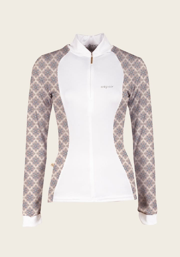 Mosaic floral shirt