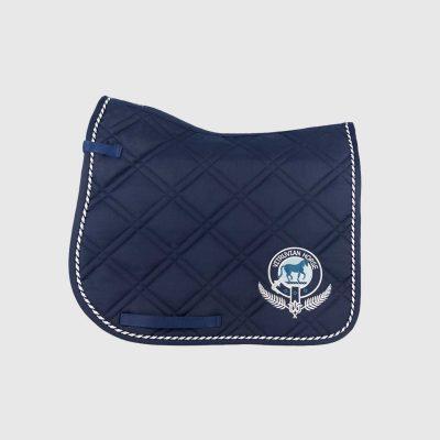 Vitruvian Horse North Dressage Saddle Quilt pad