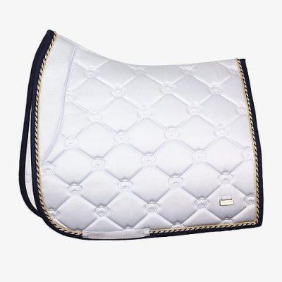 PS of Sweden White dressage saddle pad