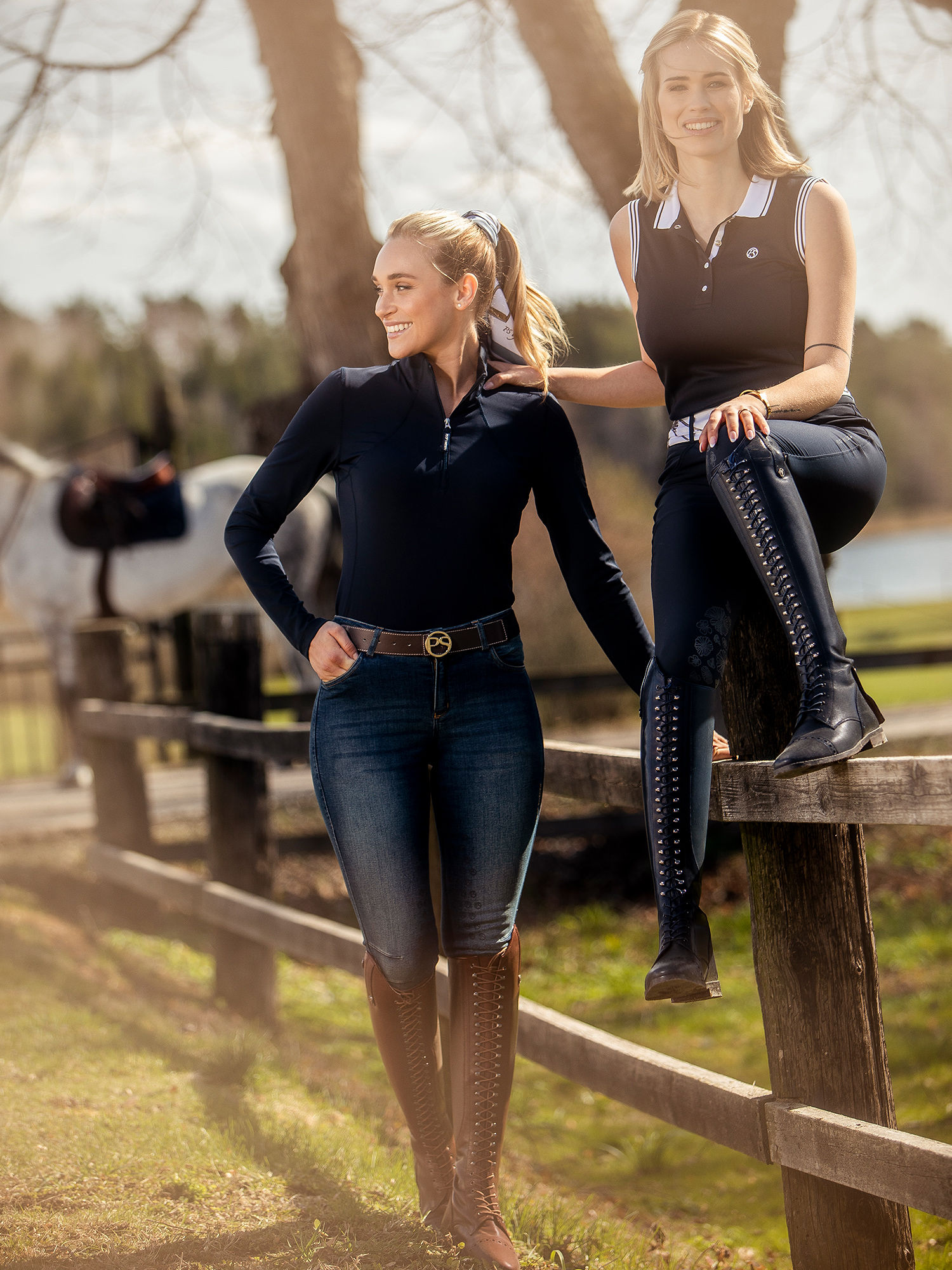 jumping saddle pads